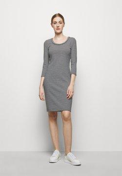 Lauren Ralph Lauren - Jerseykleid - white/black