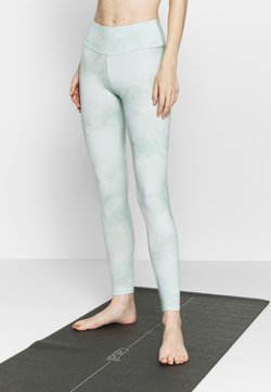 Hey Honey - LEGGINGS TIE DYE MINT - Medias - mint