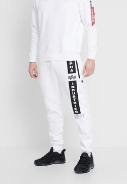 Alpha Industries - Jogginghose - white