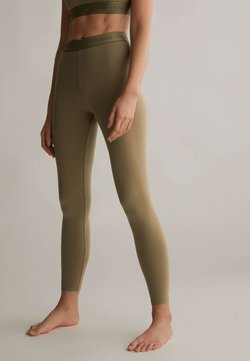 OYSHO - COMFORT - Tights - khaki