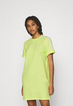 adidas Originals - TEE DRESS - Jerseykleid - pulse yellow