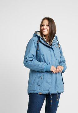 Ragwear Plus - DANKA MINIDOTS COAT - Manteau classique - blue