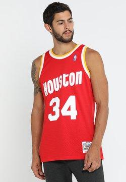 Mitchell & Ness - NBA HOUSTON ROCKETS HAKEEM OLAJUWON SWINGMAN  - Funktionsshirt - red/white