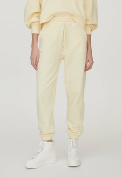 PULL&BEAR - Jogginghose - mottled dark yellow