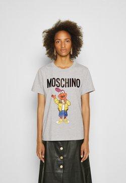 MOSCHINO - SESAME STREET - T-shirt con stampa - grey