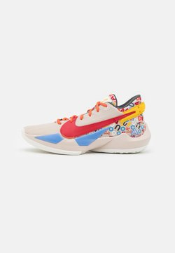 Nike Performance - ZOOM FREAK 2 NRG - Zapatillas de baloncesto - desert sand/gym red/sail/camellia