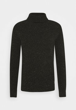 Scotch & Soda - CHENILLE TURTLENECK PULL - Pullover - fern
