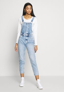 Free People - SHELBY OVERALL - Salopette - blue