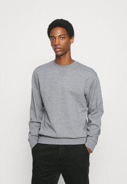 Selected Homme - SLHJASON CREW NECK - Bluza - medium grey melange