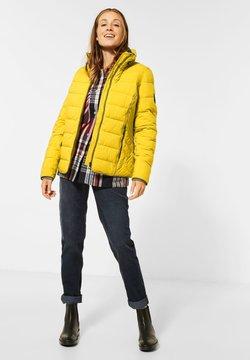 Cecil - MIT STEPPUNG - Winterjacke - gelb