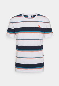 Cleptomanicx - COASTING - T-Shirt print - white