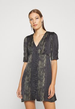 AllSaints - KOTA MASALA DRESS - Sukienka letnia - forest green