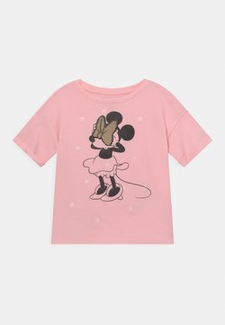 GAP - DISNEY MINNIE MOUSE GIRLS - T-Shirt print - light shell pink