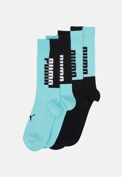 Puma - MEN SEASONAL SOCK 4 PACK - Calcetines de deporte - blue/black