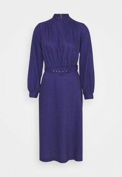 Closet - HIGH NECK MIDI DRESS - Day dress - navy