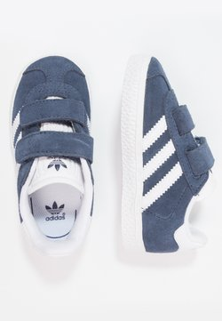 adidas Originals - GAZELLE - Sneakers laag - collegiate navy/footwear white