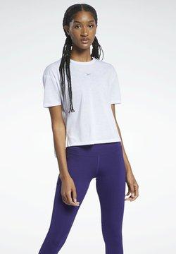 Reebok - Camiseta estampada - white
