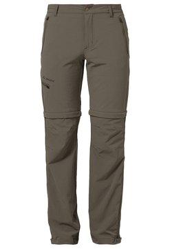 Vaude - FARLEY T ZIP PANTS - Outdoor-Hose - tarn