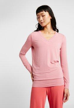 Curare Yogawear - NEW V NECK  - Camiseta de manga larga - coral pink
