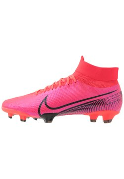 Nike Performance - MERCURIAL  7 PRO FG - Moulded stud football boots - laser crimson/black/laser crimson