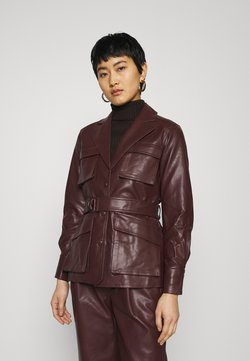 Twist & Tango - CECILIA JACKET - Keinonahkatakki - reddish brown