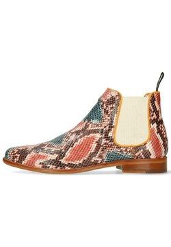 Melvin & Hamilton - SNAKE KING - Boots à talons - multicolor