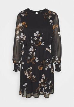 Vero Moda - VMSMILLA DRESS  - Freizeitkleid - black/hallie