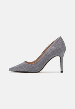 Dorothy Perkins - DELE SHIMMER COURT - Zapatos altos - pewter