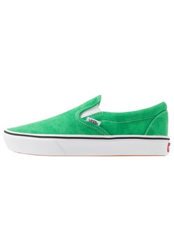 Vans - COMFYCUSH - Loaferit/pistokkaat - fern green