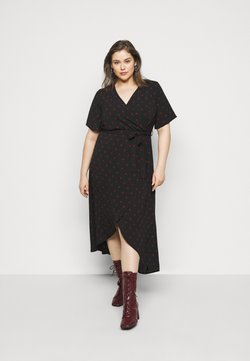 New Look Curves - SPOT DRESS - Freizeitkleid - black