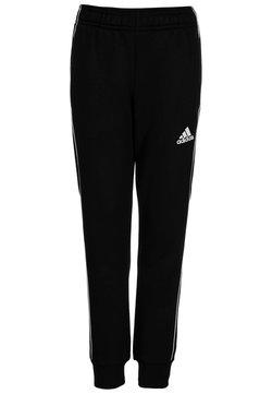 adidas Performance - CORE - Verryttelyhousut - black/white