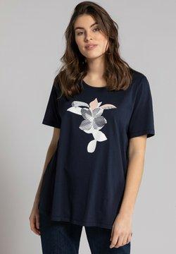 Ulla Popken - T-Shirt print - navy