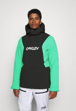 Oakley - INSULATED ANORAK - Snowboardjacka - black/mint
