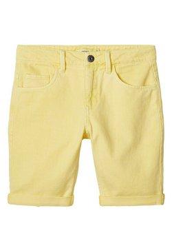 Name it - Jeansshort - yellow iris