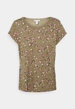 edc by Esprit - COO CORE - T-Shirt print - khaki