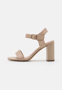 New Look - Sandales à talons hauts - stone