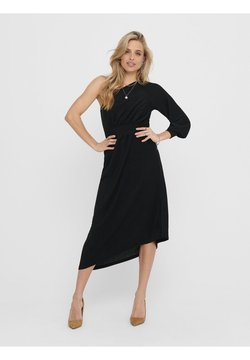 ONLY - ONE SHOULDER - Cocktailkleid/festliches Kleid - black