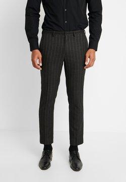 Burton Menswear London - COLLEGE STRIPE  - Puvunhousut - grey