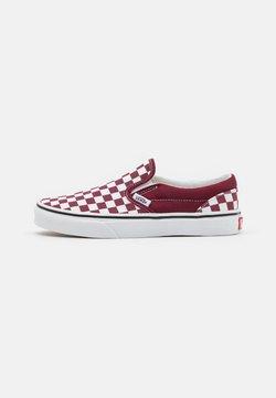 Vans - CLASSIC UNISEX - Sneakers basse - pomegranate/true white
