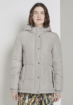 TOM TAILOR - TRENDY PUFFER JACKET - Winterjacke - silver grey