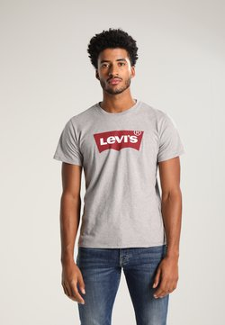 Levi's® - GRAPHIC SET-IN NECK - T-shirts med print - midtone grey