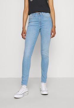 Lee - SCARLETT HIGH - Jeansy Skinny Fit - flight