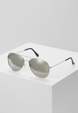 Burton Menswear London - JAMES MIRROR LENS AVIATOR - Sunglasses - grey