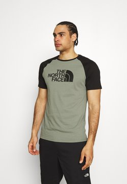 The North Face - RAGLAN EASY TEE - T-shirt med print - agave green