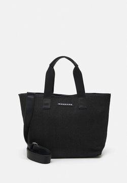 Mennace - BEACH TOTE UNISEX - Shoppingväska - black