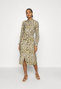 Object - OBJAZZA DRESS - Maksimekko - khaki