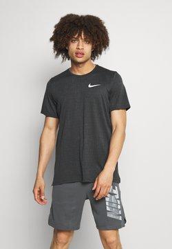 Nike Performance - T-Shirt basic - dark smoke grey/black