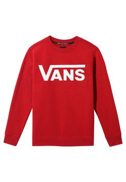 Vans - Sweater - chili pepper-white