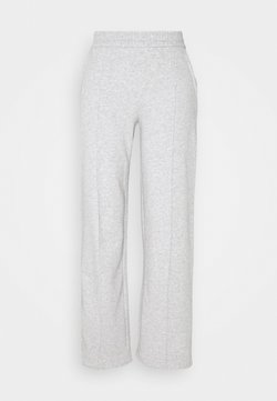 JDY - JDYLINE PINTUCK SWEAT PANT  - Jogginghose - light grey melange
