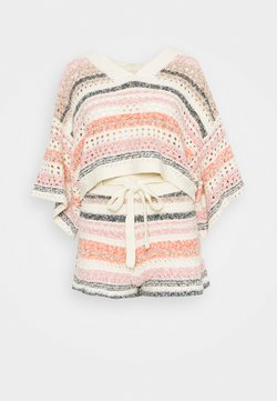 Free People - STRIPES FOR DAYS SET - Strickpullover - sunset combo